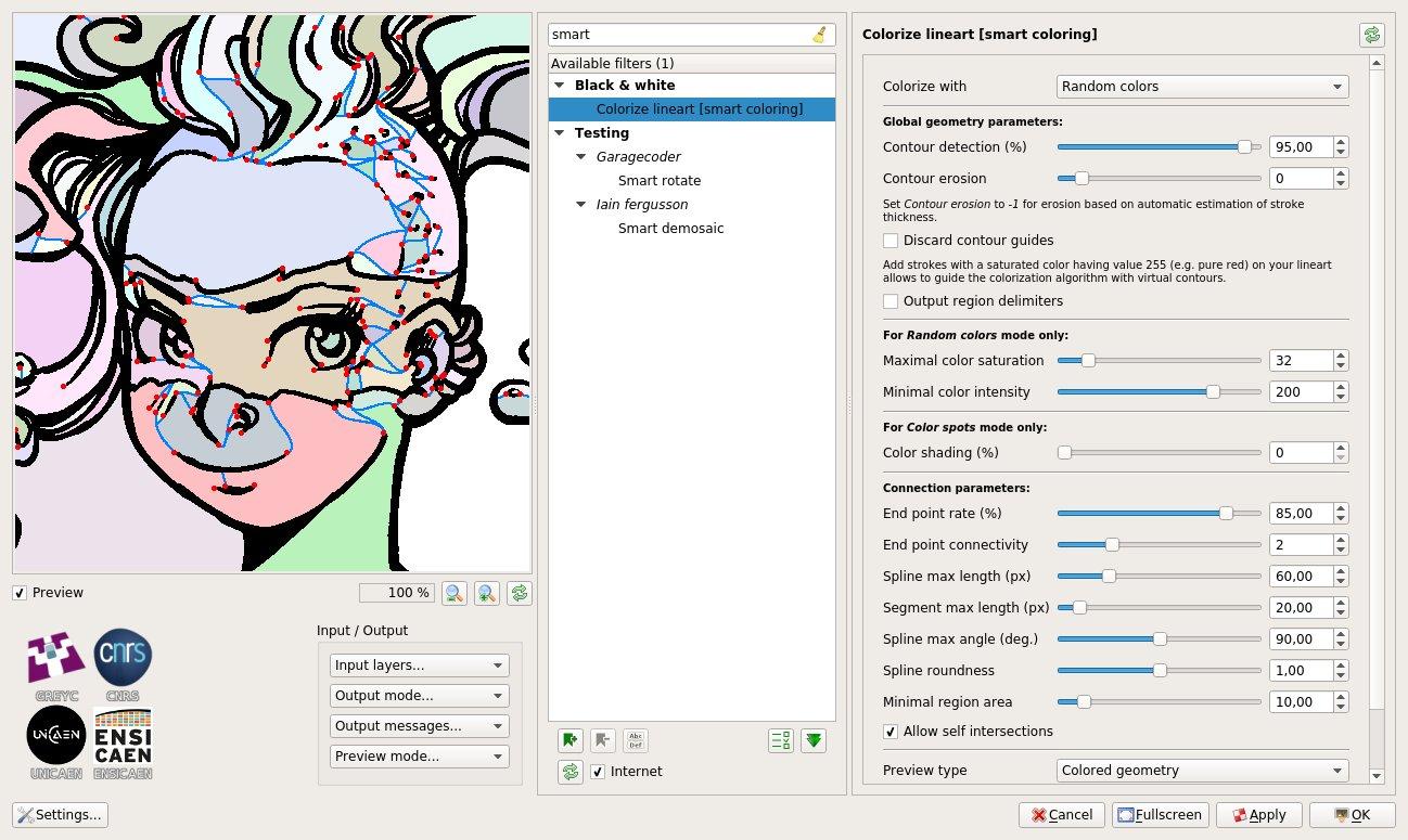 Smart Colorization in GIMP – Girin Studio